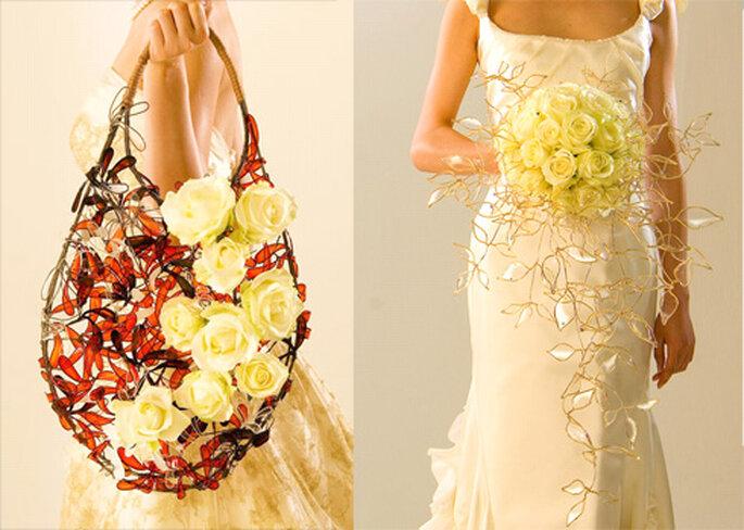 Bouquet original d'inspiration orientale