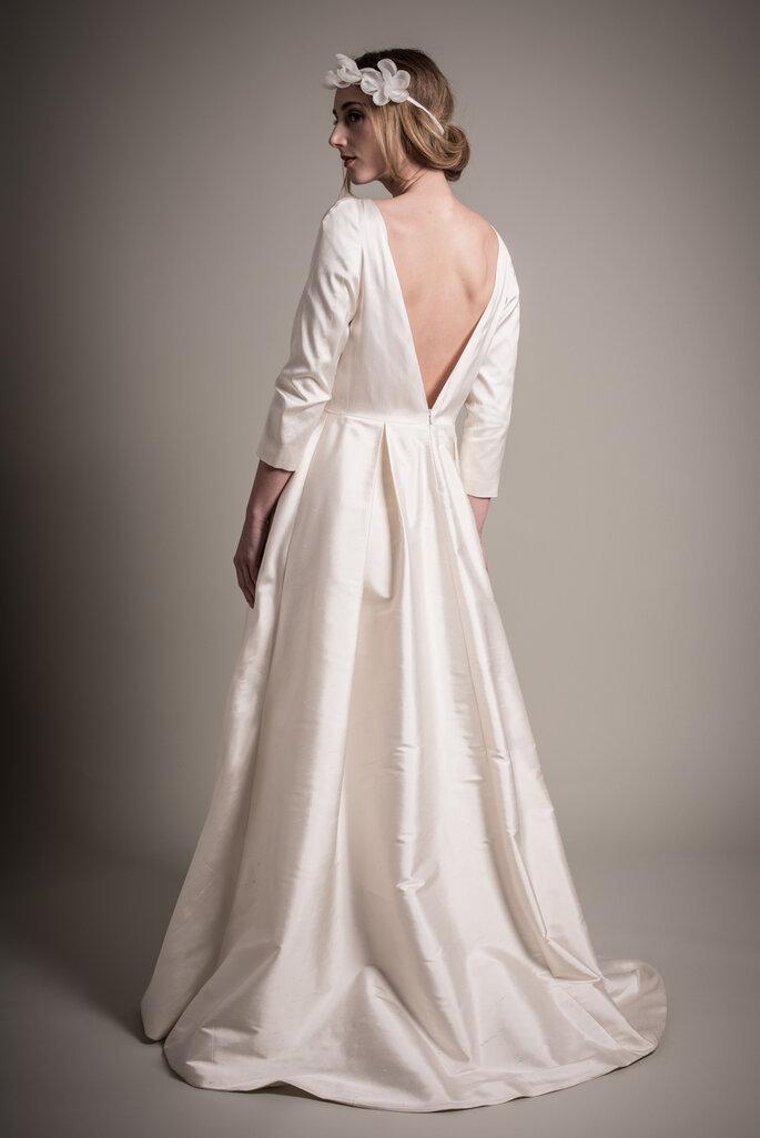 Robe de mariée sur mesure Au Fil d'Elise