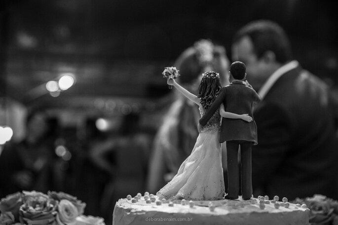 topo do bolo de casamento