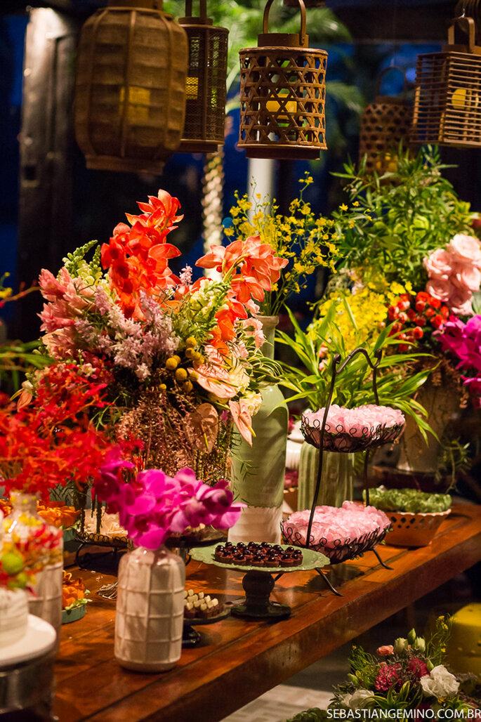 Flores: Aurora Atelier Floral - Foto: Sebastian Gemino Fotografia