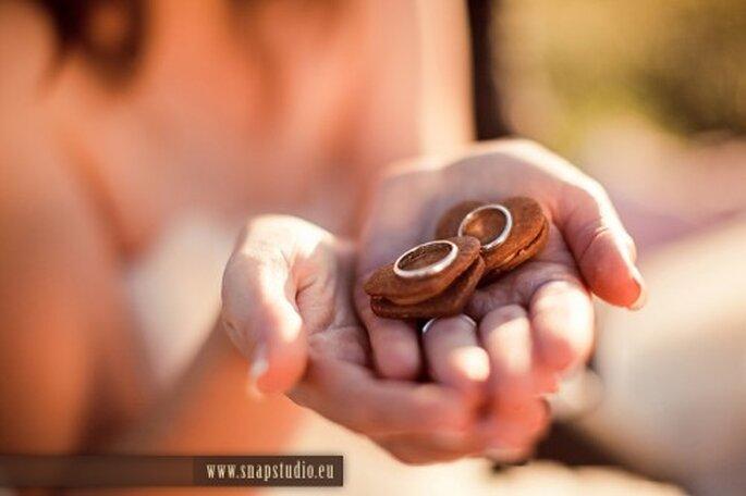 Anillos de boda. Foto de www.snapstudio.eu/