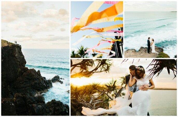 Hochzeitsfotos - So schön kann man in Erinnerungen schwelgen. Fotos: Julian Beattie