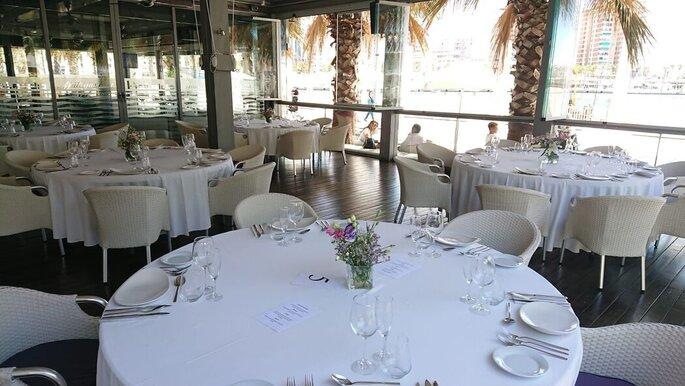 Kaleido Málaga Port restaurante bodas Málaga