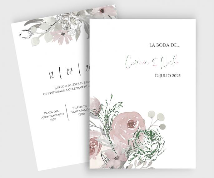 Bloom | Invitación de boda