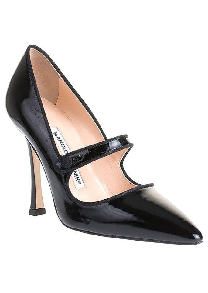 Schwarze Schuhe gehören in jeden Schuhschrank – Foto: Manolo Blahnik