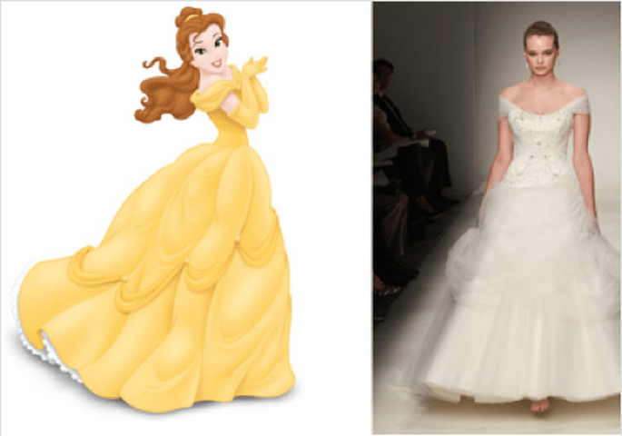 Disney Princess Wedding Dresses Alfred Angelo. Alfred Angelo has debuted