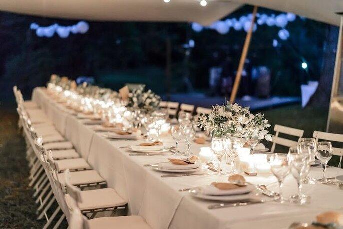 Un dîner de mariage en plein dans le Gard