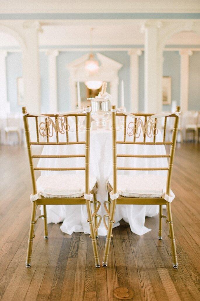 decoracin para las sillas de tu banquete de bodas foto pasha belman photography