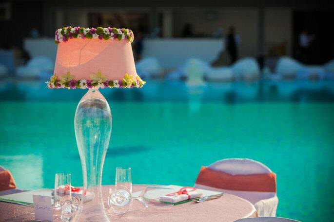 Kora Events - decorazione tavola degli sposi