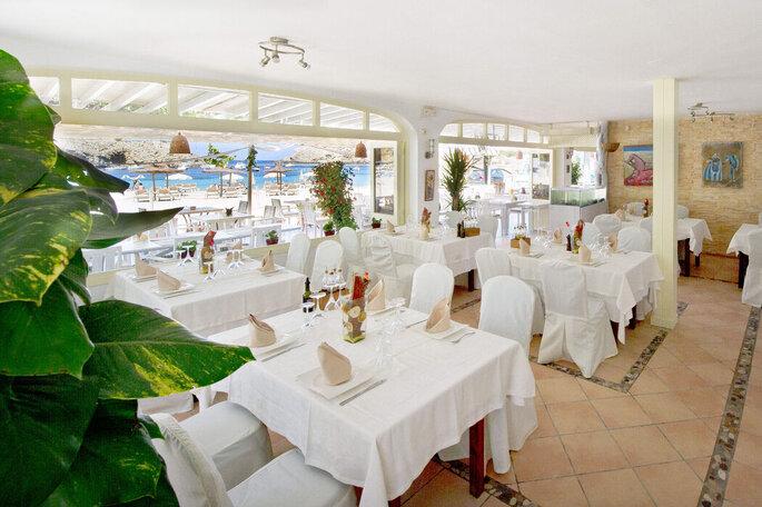 Cana Sofía Beach Restaurante bodas Ibiza