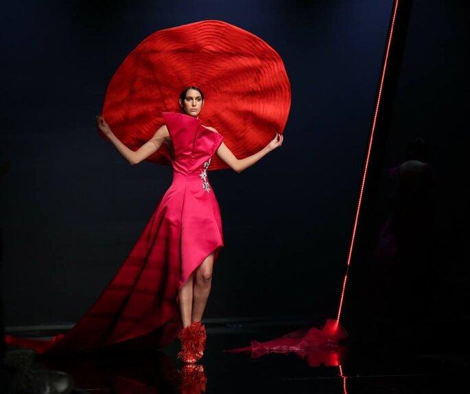Musani Couture - Foto via Facebook.com/SiSposaitaliaCollezioni
