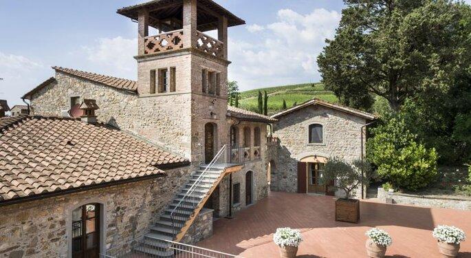 Villa Campomaggio Resort & Spa. Foto: divulgação