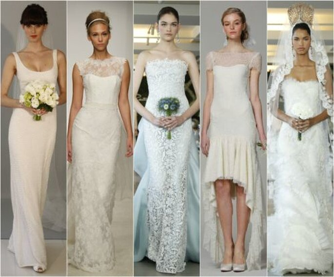 Wedding dresses from new york bridal fashion week spring 2013