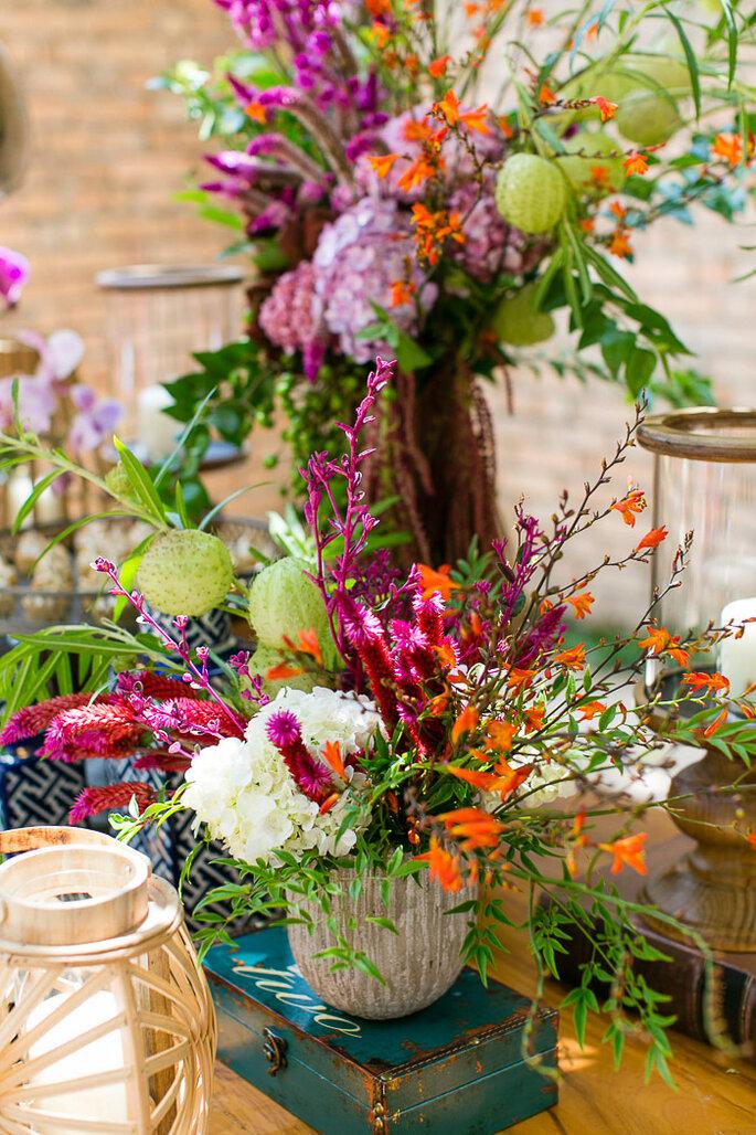 decoração floral