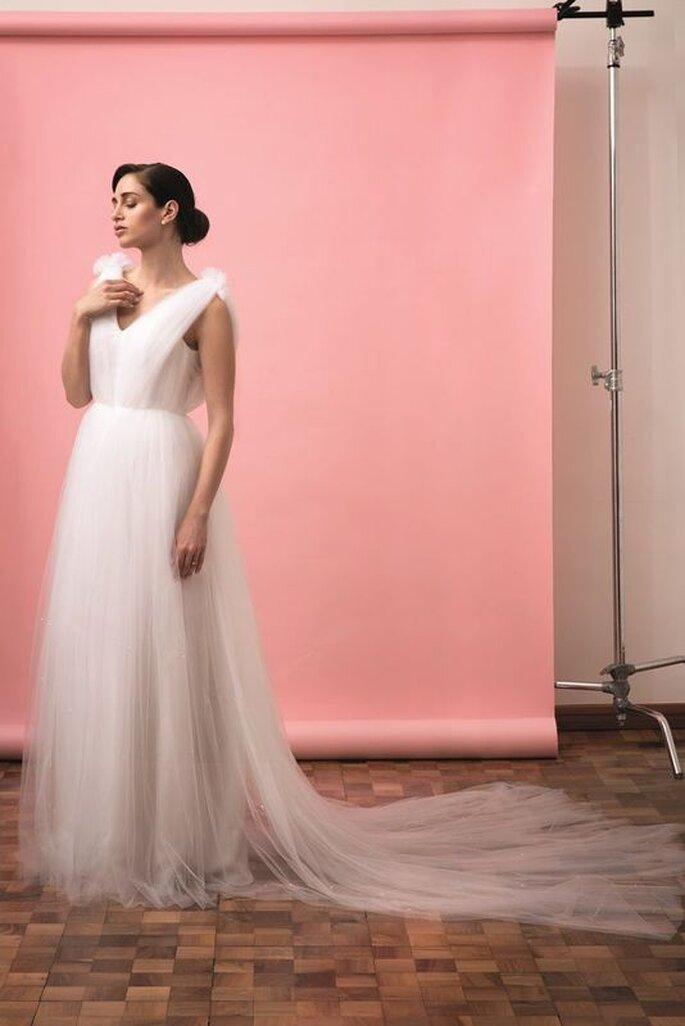 Melania Fumiko - abito da sposa in tulle