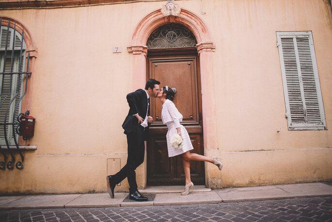 photo mariés originale