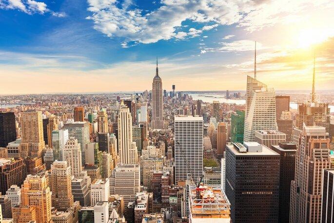 vista aérea de Nova Iorque