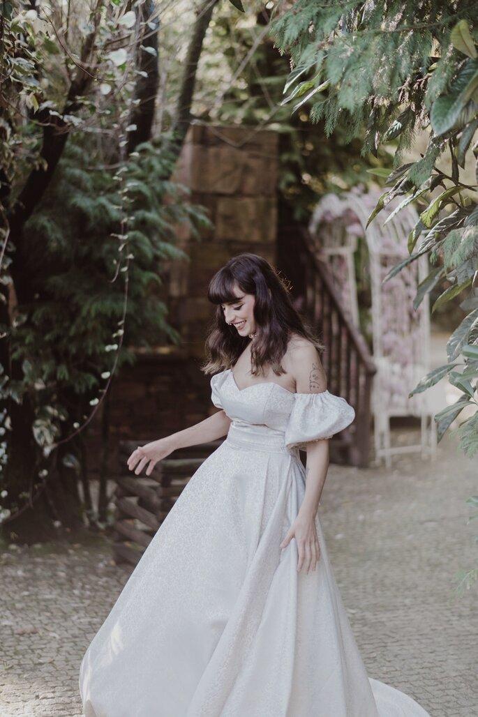 Vestido de Noiva Conceição Leite Porto