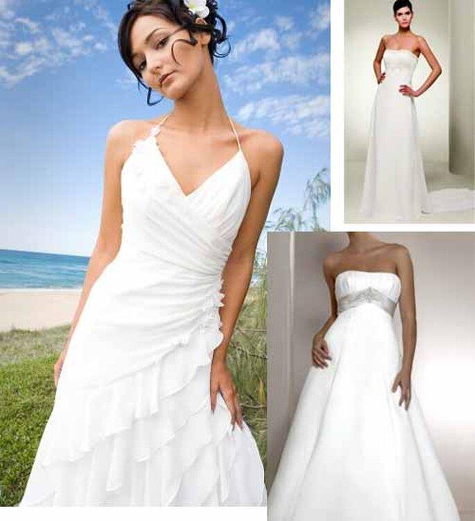 Selection Zankyou 9 Robes De Mariee Simples Et Elegantes