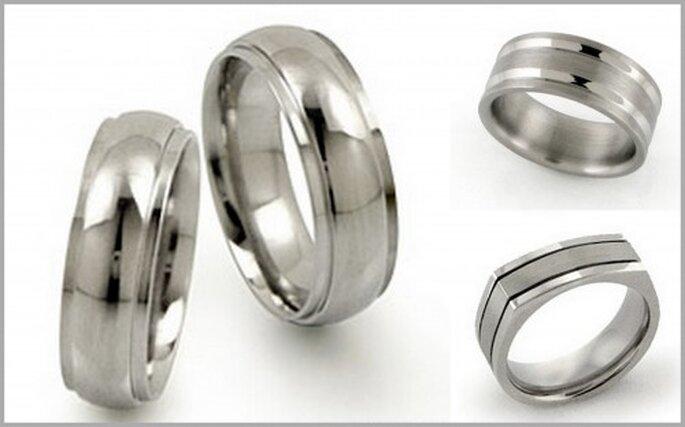 Titanium Style rings