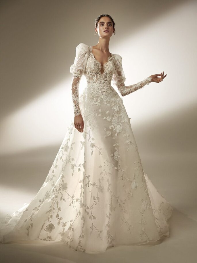 tendenze moda autunno inverno 2020/2021 abiti da sposa