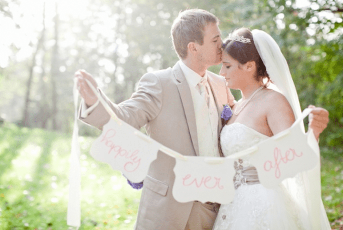 Señalización de boda. Fotografìa Nadia Meli