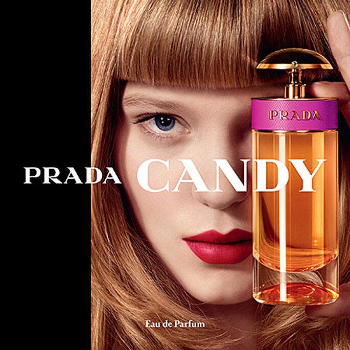 Los 12 perfumes más populares para el día de tu boda. Foto: Candy By Prada