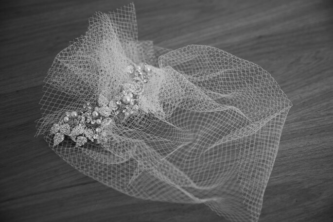 Acessório de cabelo da noiva: Nova Noiva - Foto: Johnny Moraes Fotografia
