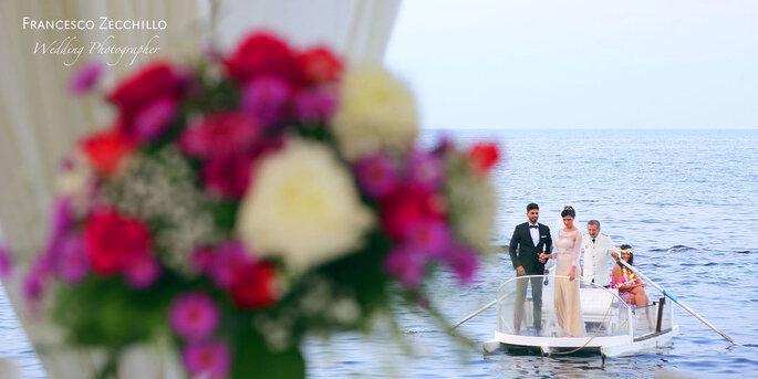 La Perla del Doge - arrivo sposi via mare