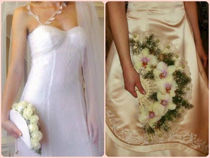 Brautstrauß in fächer form fotos biancobouquet com