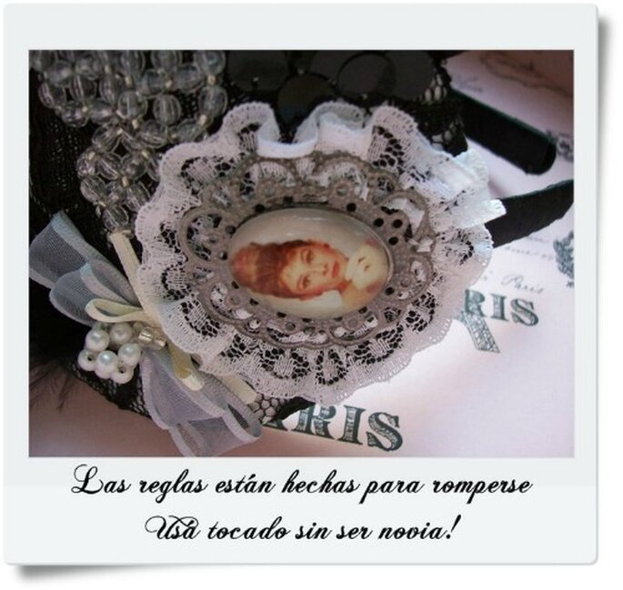 Tocados y vinchas vintage por Cabecita de Novia