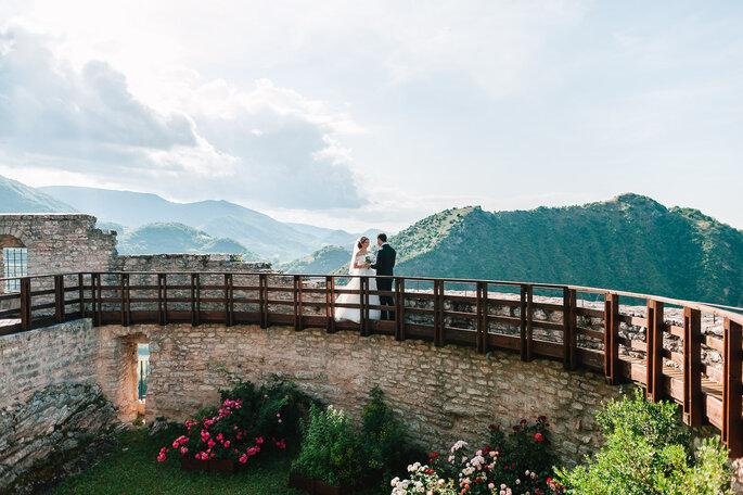 Castello di Naro - sposi