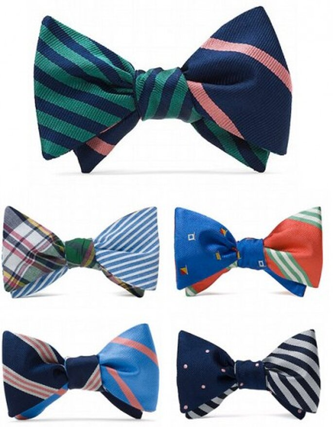 Reversible bow ties from Brooks Brothers