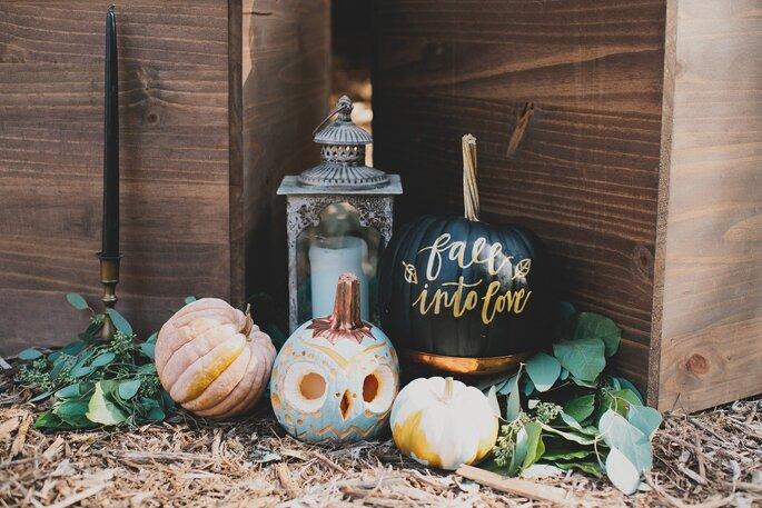 Dekoration Halloween Kürbis