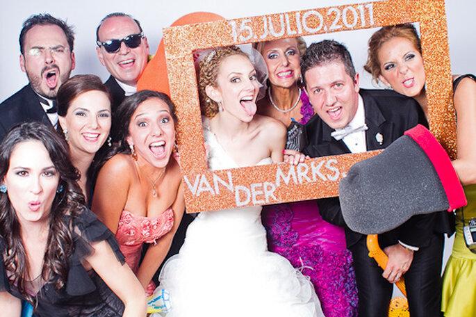 Cabinas fotográficas para tu boda. Foto de Pepe Orellana