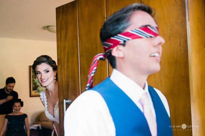 Noivos antes do casamento