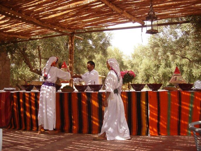 Lendemain de mariage à Marrakech