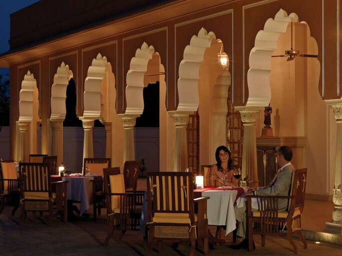 Photo: The Oberoi Rajvilas, Jaipur.