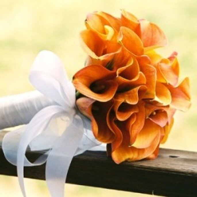 Un bouquet arancione