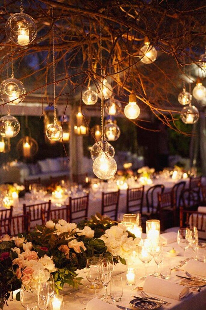 Decora tu boda con una iluminación teatral - Foto Natasja Kremers