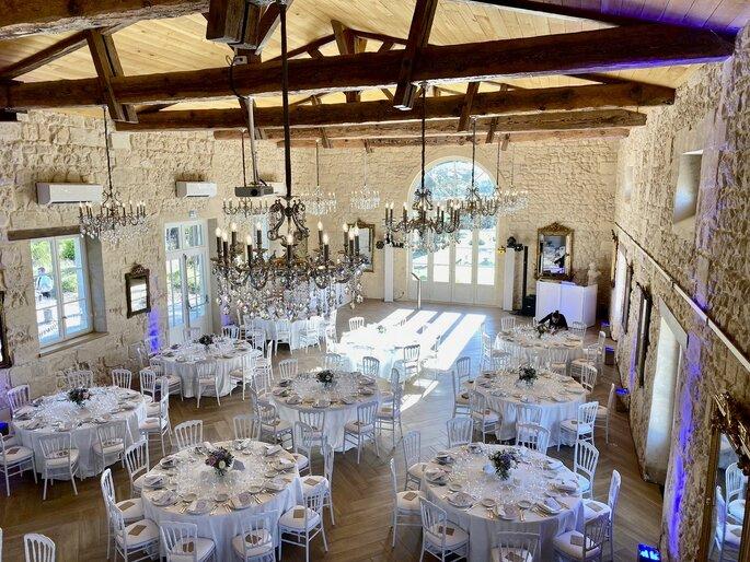 Château de Gassies, lieu de réception, Latresne