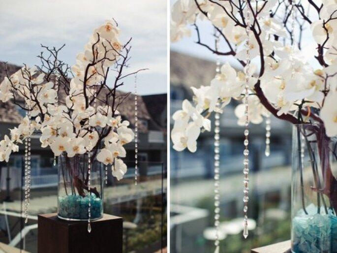 Ideas Para Bodas Centros De Mesa Con Flores