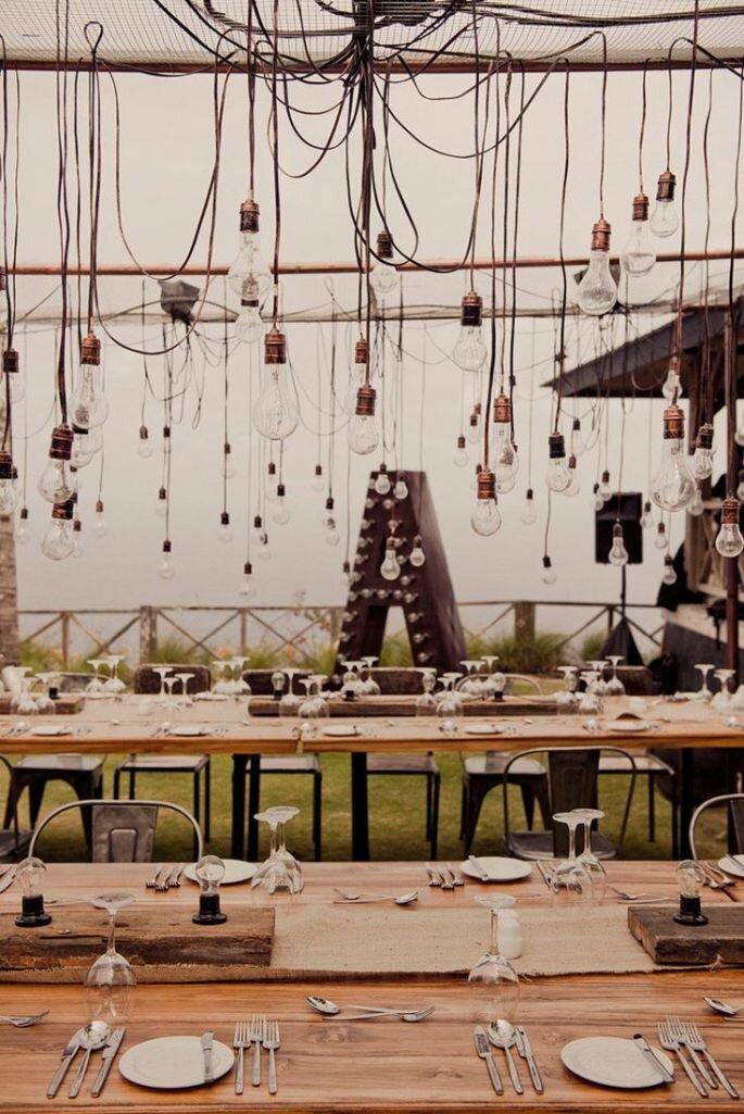 decoración estilo industrial chic - Studio Impressions