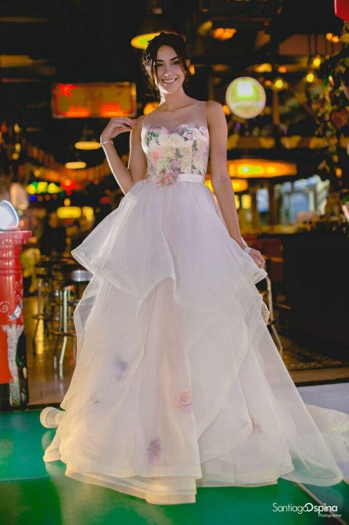 Marcela Herrera - Vestido de Novia