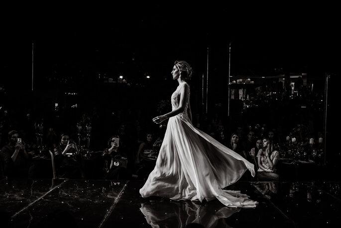 desfile vestido de noiva