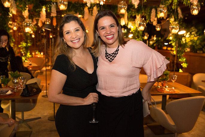 Luanna Coutinho e Betriz Dias