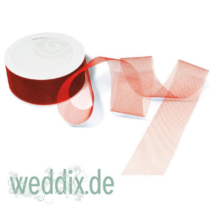 Tüllband für Autoschleifen, erhältlich bei weddix.de