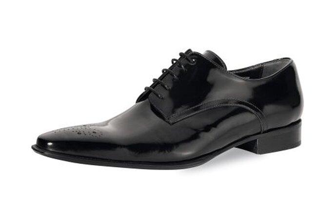 Schuhe zur Hochzeit - Mike black von Elsa Coloured Shoes http://www.elsacolouredshoes.de