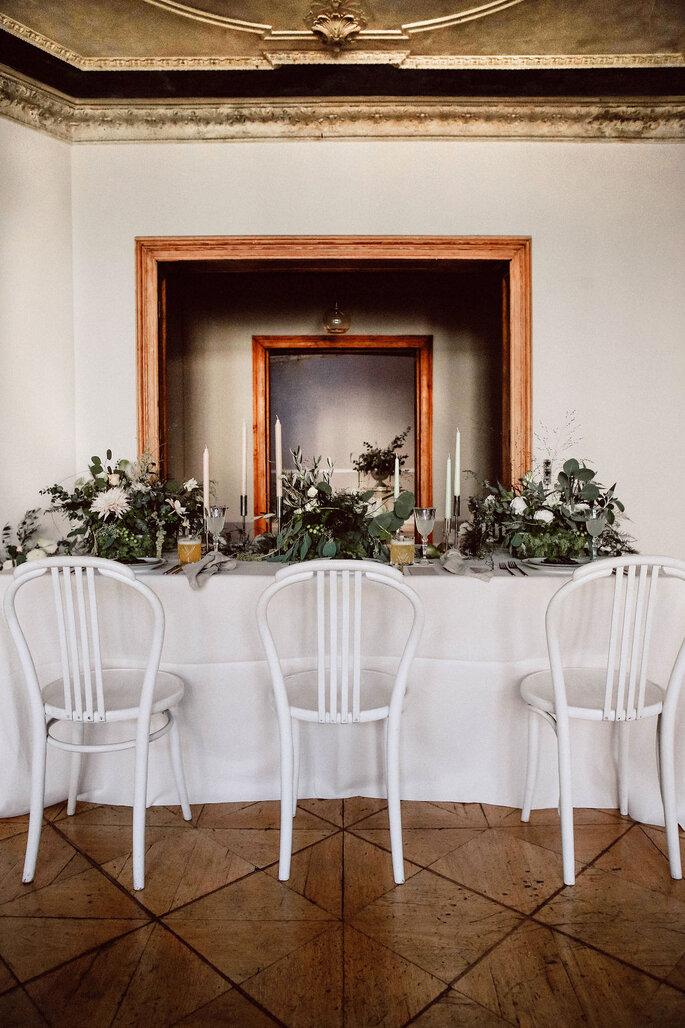 Minimony Tischdekoration Hochzeit