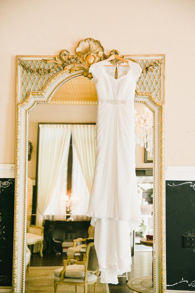El vestido de novia- un protagonista indiscutible en las fotos de boda. Foto- Onelove Photography